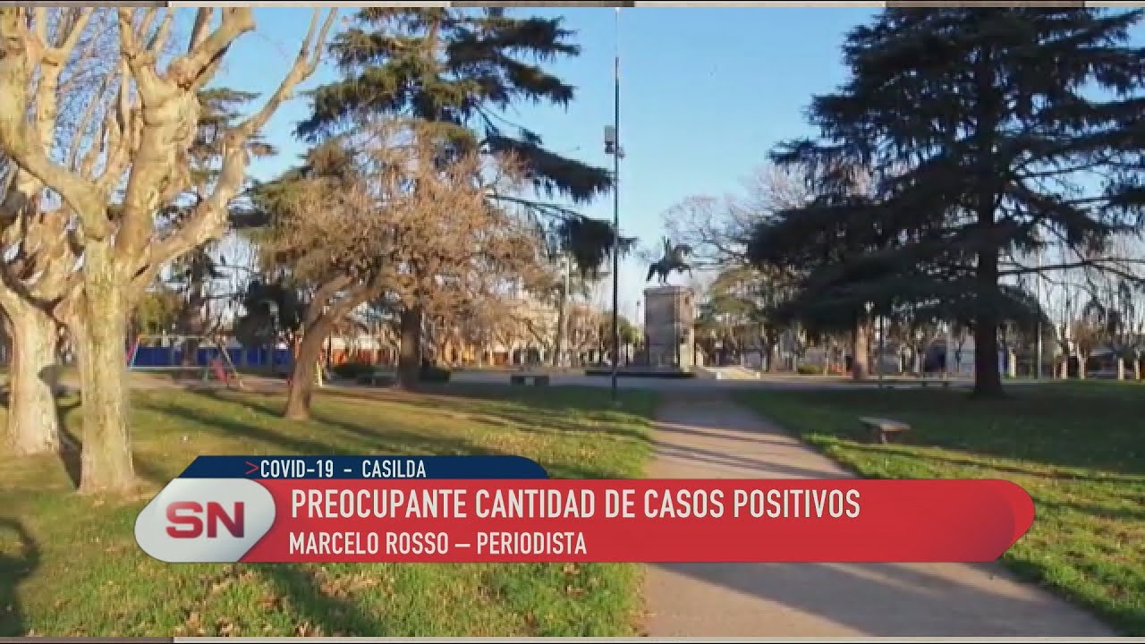 Casilda. Preocupante cantidad de casos positivos. Informe de Marcelo Rosso @casildaadiario
