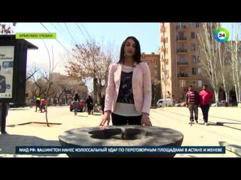 Питьевые фонтанчики проснулись в Ереване после зимовки