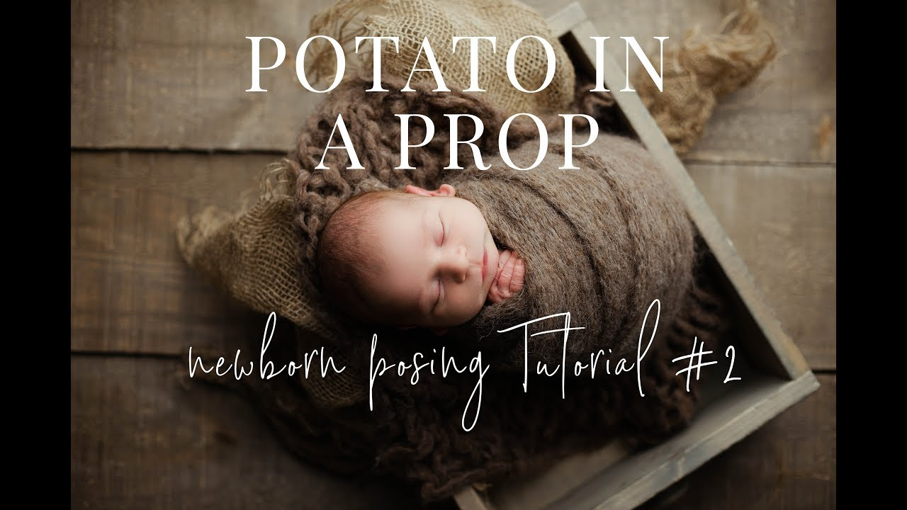 Newborn photography wrapping tutorial newborn prop posing part 2