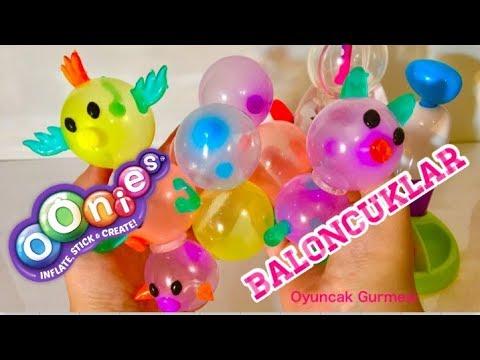Oonies Balon Makinesi Başlangıç Seti Ile Sevimli Hayvan Şekilleri Yapımı - Oyuncak Gurmesi