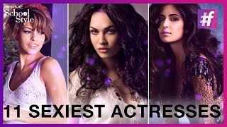 World's 11 Sexiest Actresses   Katrina Kaif   Deepika Padukone   #fame School Of Style