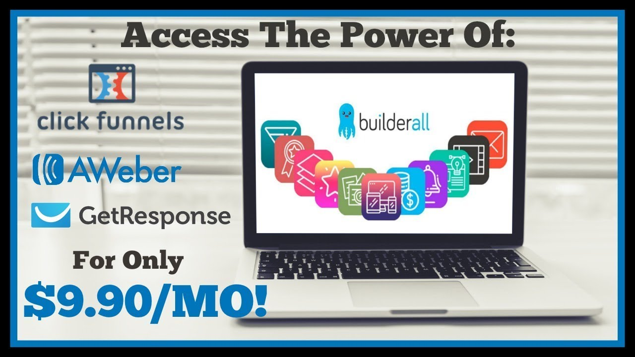 Access The Features Of Clickfunnels, Aweber & Getresponse For $9.90/Mo | Powerful Marketing Tool