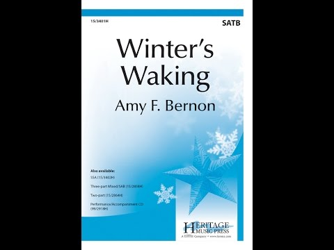 Winter's Waking (SATB) - Amy F Bernon