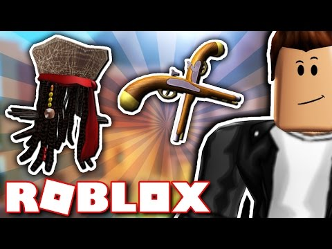 HOW TO GET TWO RARE PIRATE ITEMS IN ROBLOX!! (Buried Treasure - Pirates of The Caribbean Event)