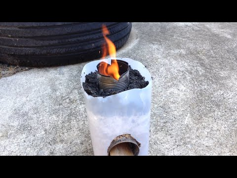 DIY Rocket Stove ( Efficient wood burning stove.)