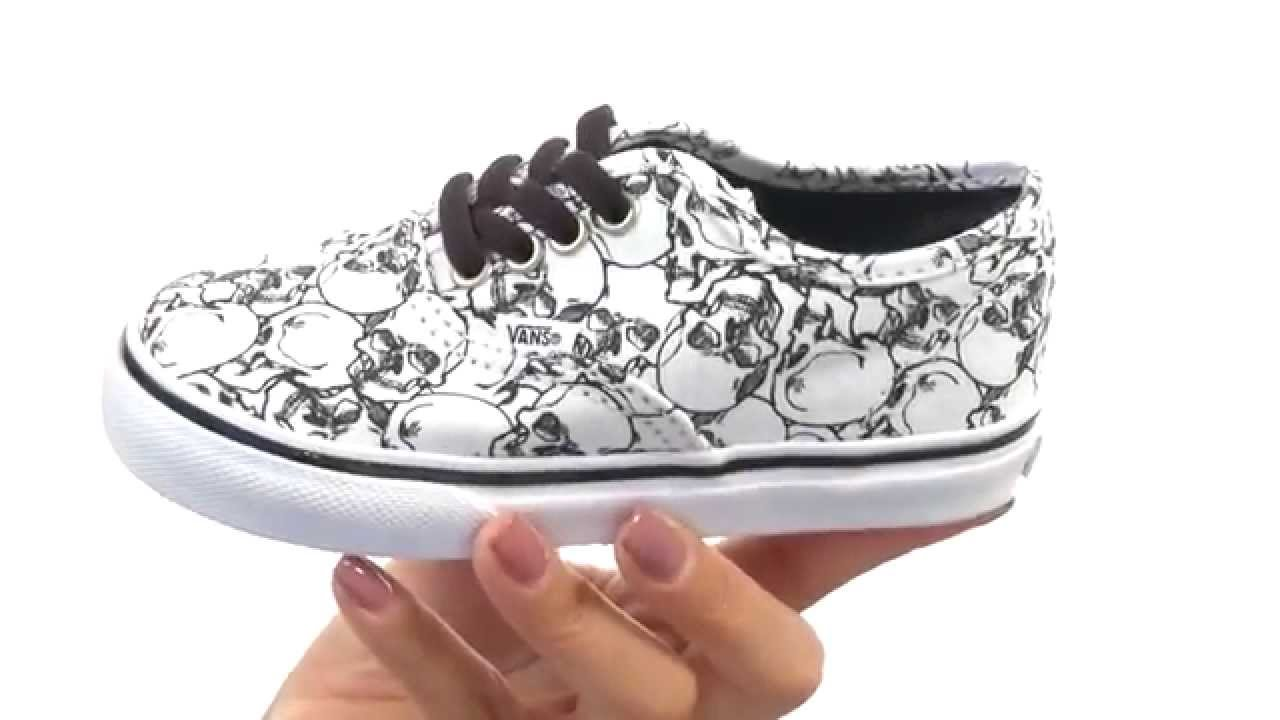 f718401bdd Vans Kids Color Me Authentic (Toddler) SKU 8586940 - YouTube