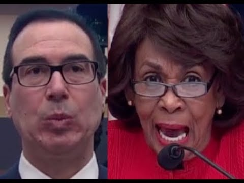 """""""THIS IS YOUR EXCUSE??!!"""" Maxine Waters DESTROYS Trump Lackey Steven Mnuchin on Trump & Russia"""