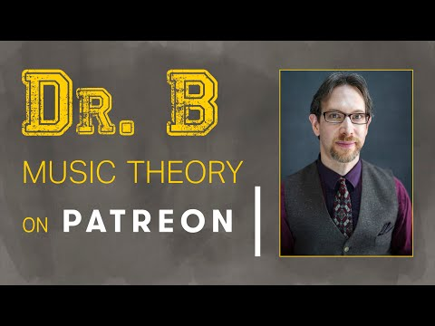 Dr. B Music Theory Lesson 49 (Beyond the Basics: Dominant chords with the substituted 6th): EXCERPT