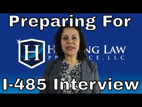 Preparing for your I-485 Green Card Interview - YouTube