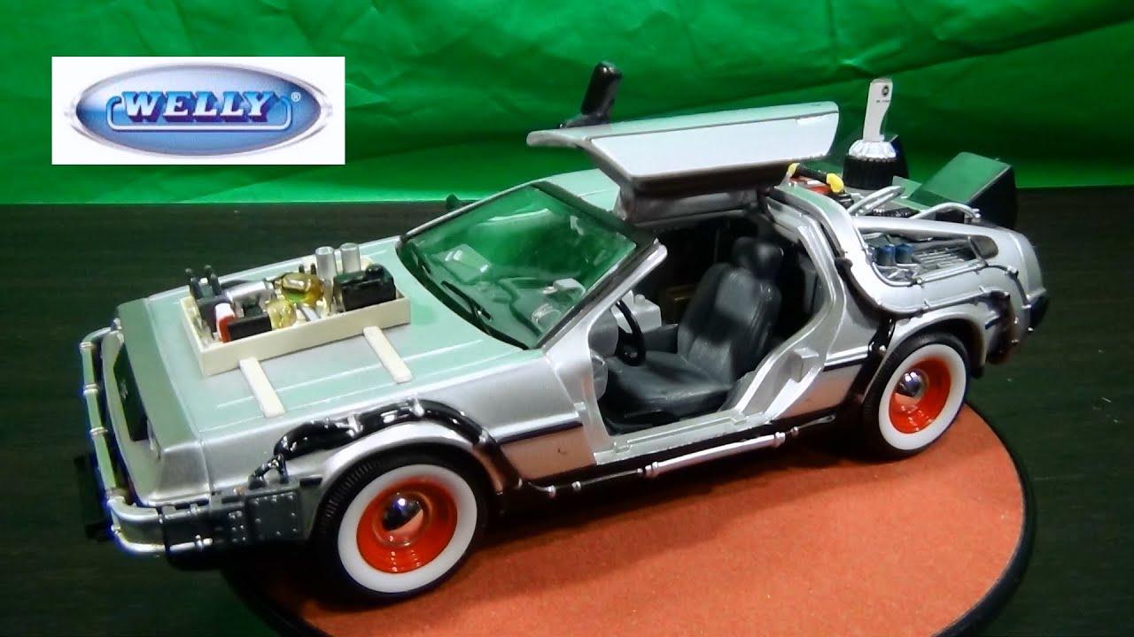 Back To The Future Delorean Model Car