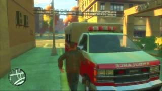 Grand Theft Auto 4 (PS3) - Random Gameplay - Ambulance of Doom (11/1/09)
