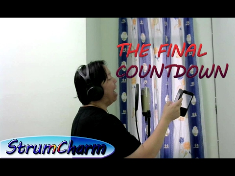 Amazing Voice of OFW singing The final Countdown
