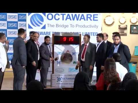 Octaware Technologies Limited - IPO Listing Ceremony