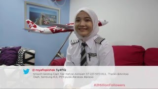 Video AirAsia Twitter: 2 Million Followers download MP3, 3GP, MP4, WEBM, AVI, FLV Juli 2018