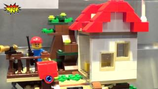 Lego Creator Tree House 31010 2013 Summer Set Preview Ny Toy Fair