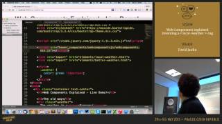 Web Components explained - Inventing a local-weather HTML-tag