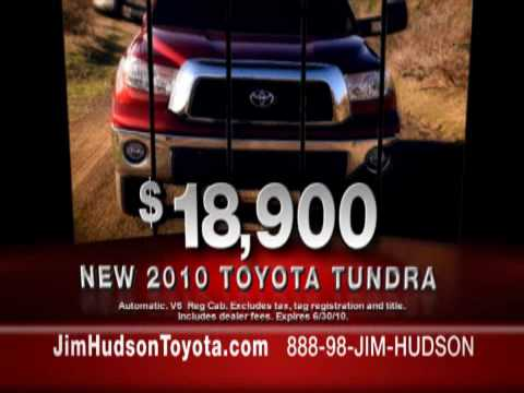 June 2010 Columbia SC Toyota Tundra Sale At Jim Hudson Toyota