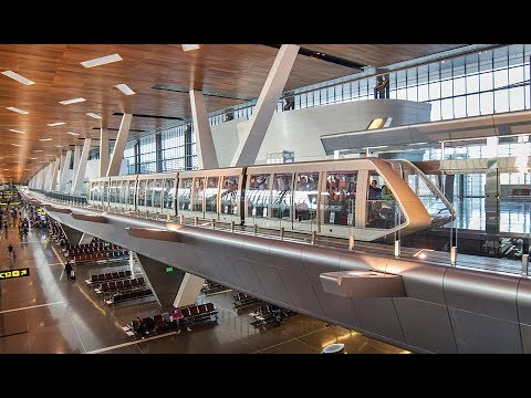 "Doppelmayr Cable Car 190-CLS ""Hamad International Airport Shuttle"" Doha, Qatar (2015)"