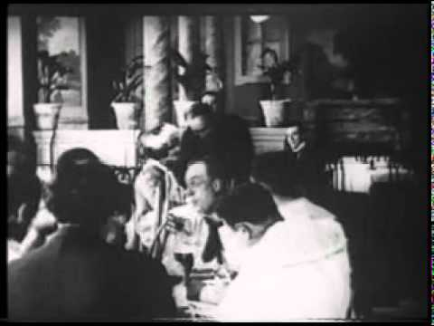 My Cousin - Enrico Caruso -1918 silent film - piano by Glenn Amer 2011.mpg
