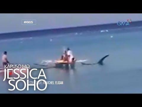 Kapuso Mo, Jessica Soho: Pinaniniwalaang halimaw sa karagatan ng Aklan, totoo nga ba?