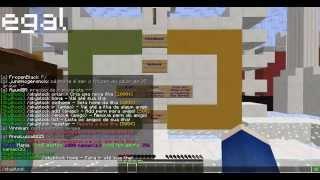 Minecraft - SkyBlock Online - PEGANDO PEDRA E EXPANDINDO ILHA! #1