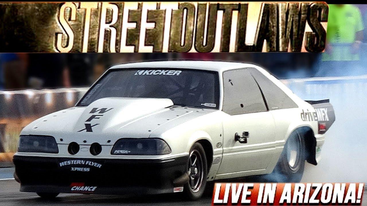 Street Outlaws Live No Prep Drag Racing Tucson Arizona Full Coverage