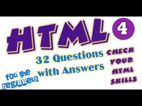 Quiz Questions HTML