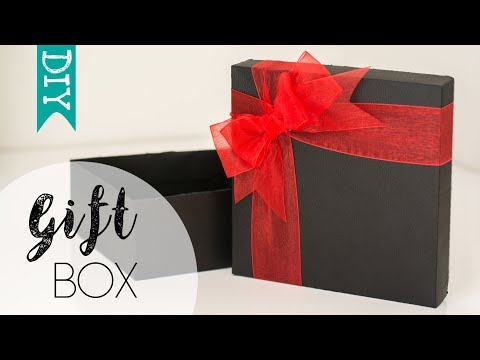 ★ DIY ★ Gift Box | How to make a gift box yourself