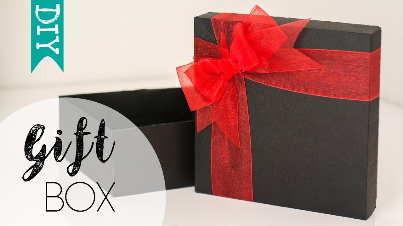 diy gift box how to make a gift box yourself youtube diy gift box how to make a gift box yourself solutioingenieria Choice Image