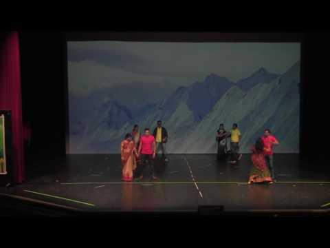 Ugadi 2017 NRI event Dance Ottawa,Telugu Medley,.Pranamam , Rattalu, Andala Aada, Jumbare JuJumbare
