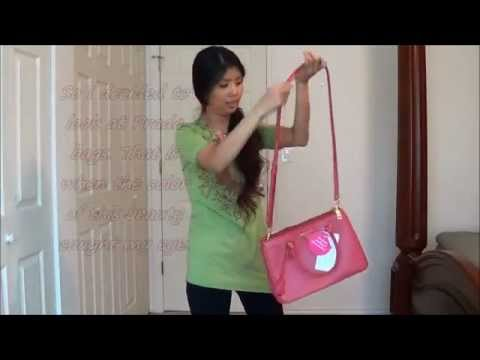 Prada Lux Small Tote - Unbox and Model