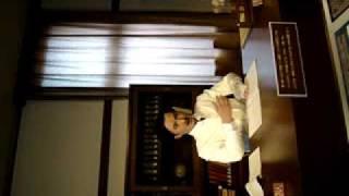 福島県耶麻郡猪苗代町の野口英世記念館の資料館2Fにある精巧に動くロボ...