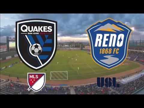 Reno 1868 FC vs San Jose Earthquakes - 2|18|17 12:30 PM PT