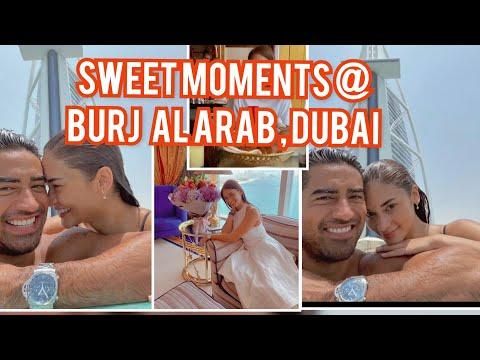 Miss Universe 2015 Pia Wurtzbach and Boyfriend enjoying moment in Burj al Arab Dubai UAE