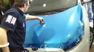 How to Wrap a Car hood with Avery Supreme Wrapping Film