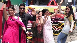 Gulshan Kumar's T Series Family Ganpati Visarjan - Divya & Tulsi  Kumar Dance Ganpati Visarjan