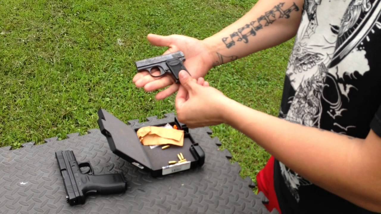 Baby Browning 25acp Tabletop Review Youtube