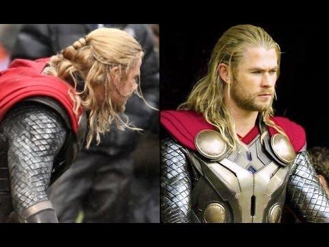 Thor The Dark World Men S Hairstyle Tutorial Youtube