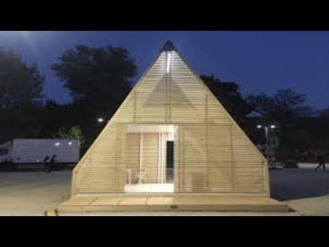 Italian Foldable Tiny House Gives Alternative to Living on Wheels