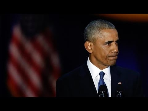Obama Gets Emotional During Tribute to Wife Michelle