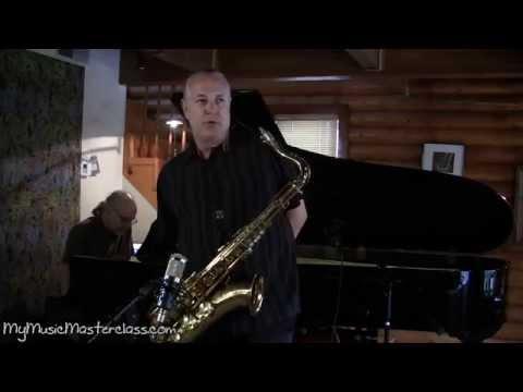 Doug Webb - Harmonic Improvisation Saxophone Masterclass 2