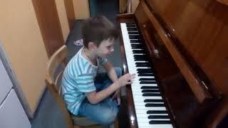Цыганочка фортепиано