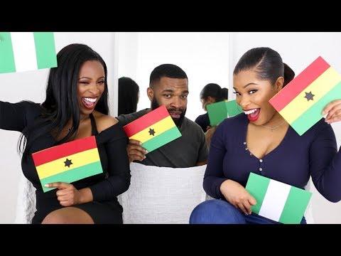 GHANA vs. NIGERIA | TAG | SHIRLEY, ALAN & KEZIA ENIANG