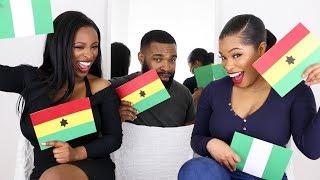 Download Video GHANA vs. NIGERIA | TAG | SHIRLEY, ALAN & KEZIA ENIANG MP3 3GP MP4