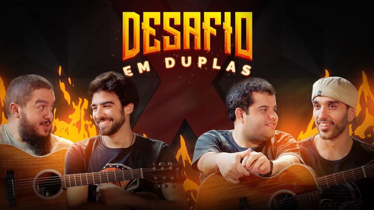 DUAS PESSOAS TOCANDO O MESMO VIOLÃO | Desafio Cifra Club