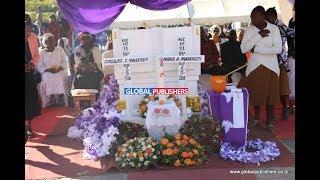 UCHAMBUZI: Yaliyotokea Kwenye Mazishi ya Maria na Consolata