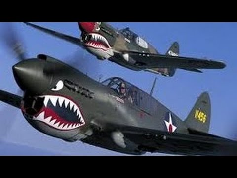 World War Jet Fighters | Plane Dogfights | China Flying Tigers | Military Documentary Film