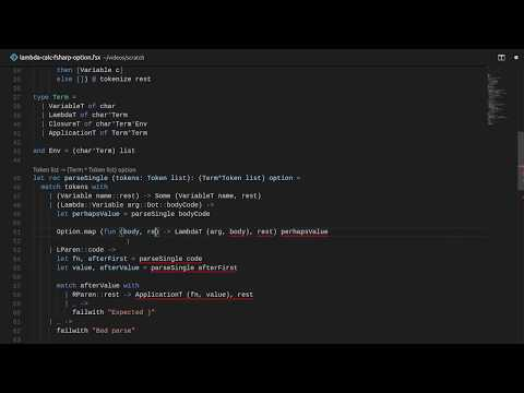 Making It Pure with Option - Lambda Calculus in F# Part 2