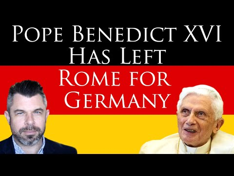 Pope Benedict XVI Has Left Rome for Germany - Dr Taylor Marshall Show