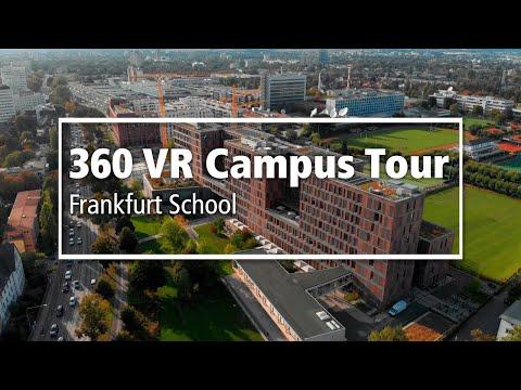 360 Virtual Reality Campus Tour 5K | German | Frankfurt School